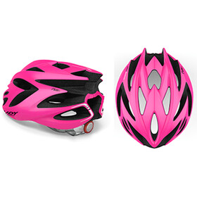 Rudy Project Rush Helmet Pink Fluo/Black Shiny